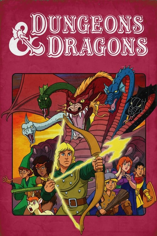 Poster della serie Dungeons & Dragons
