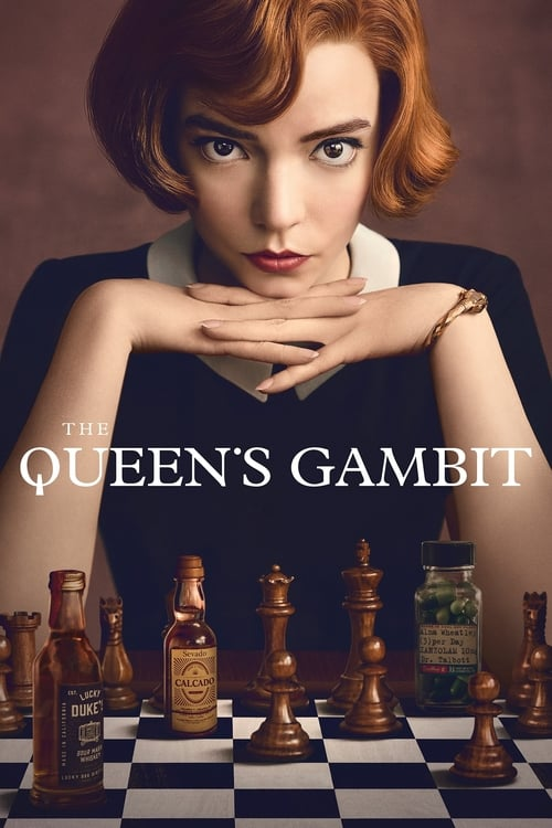 Poster della serie The Queen's Gambit