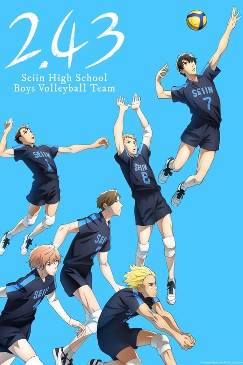 Poster della serie 2.43: Seiin High School Boys Volleyball Club