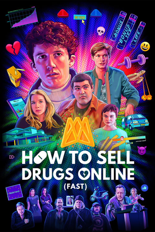 Poster della serie How to Sell Drugs Online (Fast)