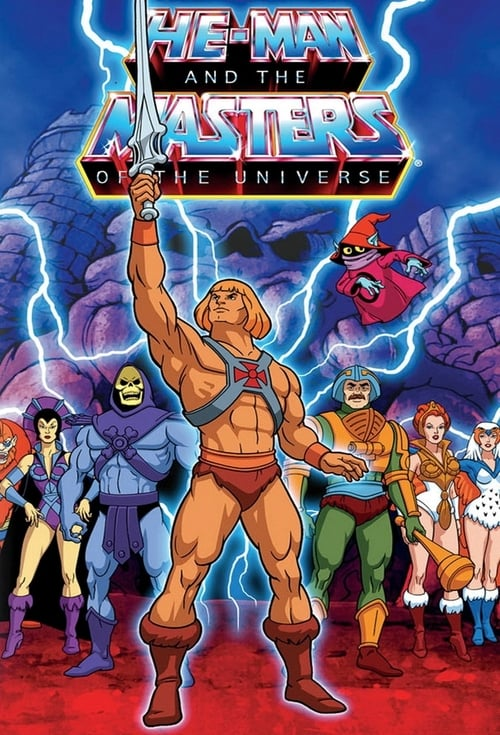 Poster della serie He-Man and the Masters of the Universe