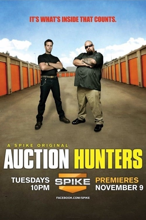 Poster della serie Auction Hunters