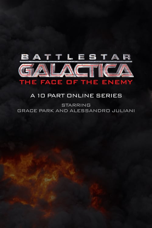 Poster della serie Battlestar Galactica: The Face of the Enemy