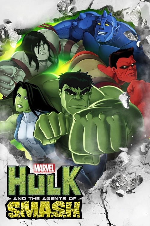 Poster della serie Marvel's Hulk and the Agents of S.M.A.S.H