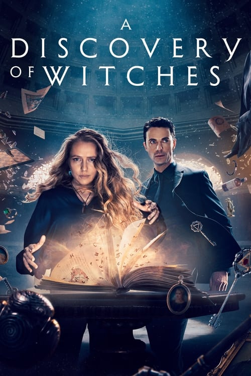 Poster della serie A Discovery of Witches