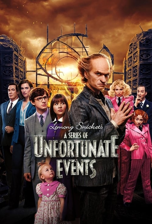 Poster della serie A Series of Unfortunate Events