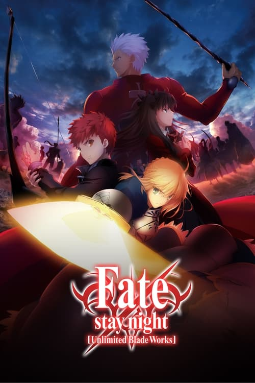 Poster della serie Fate/stay night [Unlimited Blade Works]
