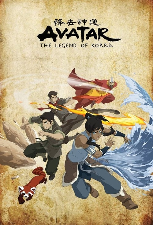 Poster della serie The Legend of Korra
