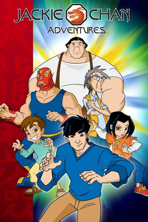 Poster della serie Jackie Chan Adventures