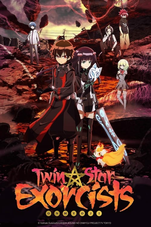 Poster della serie Twin Star Exorcists