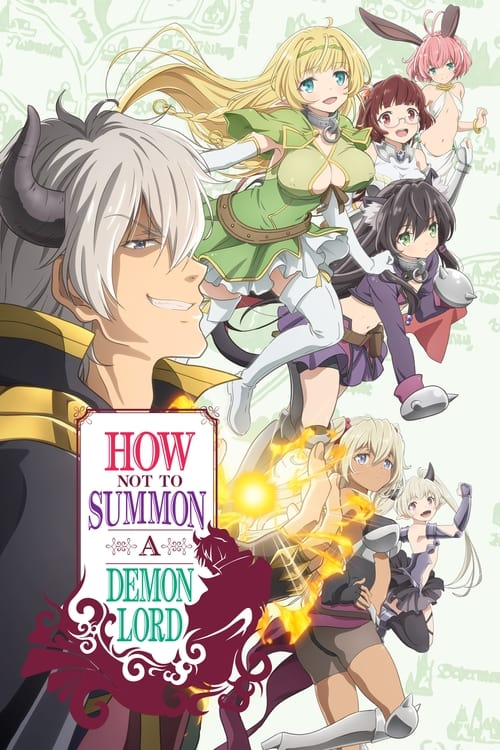 Poster della serie How Not to Summon a Demon Lord