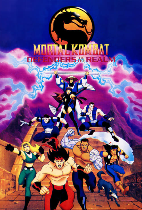 Poster della serie Mortal Kombat: Defenders of the Realm