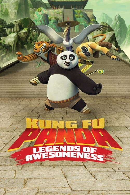 Poster della serie Kung Fu Panda: Legends of Awesomeness
