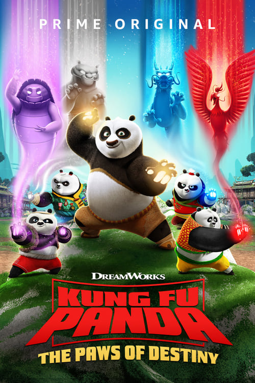 Poster della serie Kung Fu Panda: The Paws of Destiny
