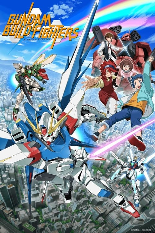 Poster della serie Gundam Build Fighters