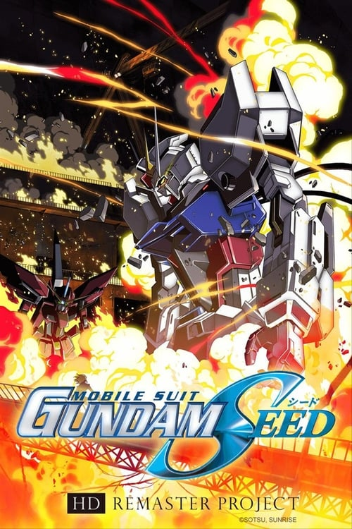 Poster della serie Mobile Suit Gundam SEED