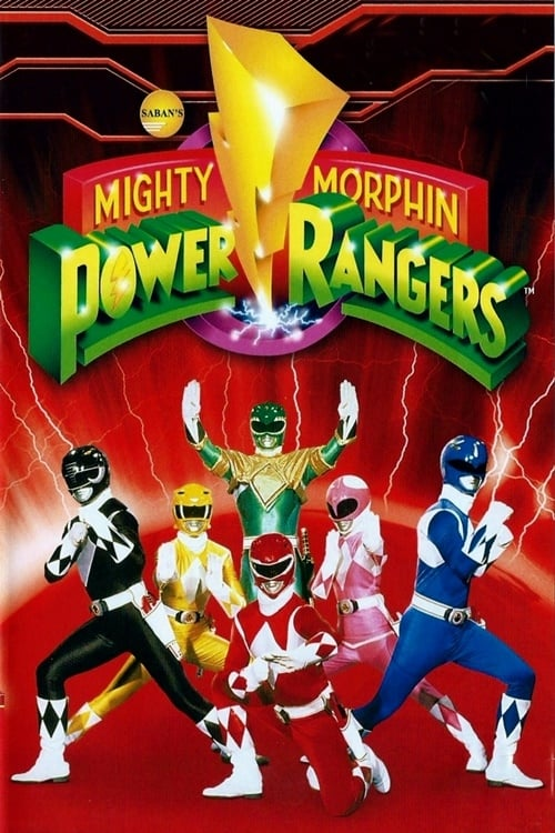 Poster della serie Mighty Morphin Power Rangers