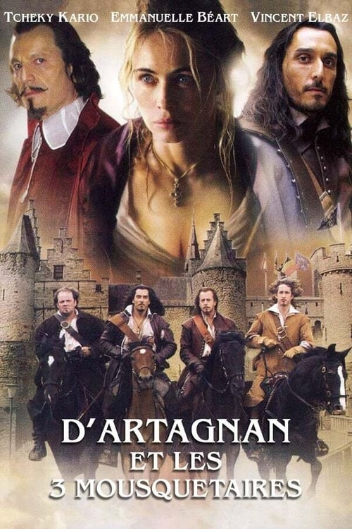 Poster della serie D'Artagnan and the Three Musketeers